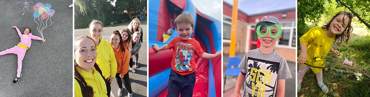 photos of children attending holiday club stockport